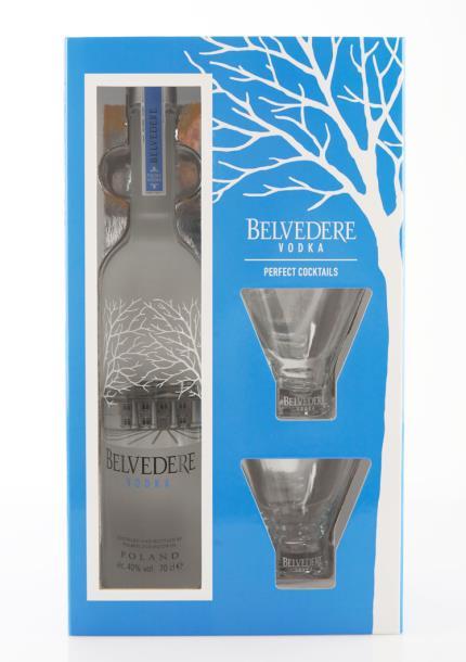 Alcohol Gifts - Belvedere Vodka Gift Set - Image 2