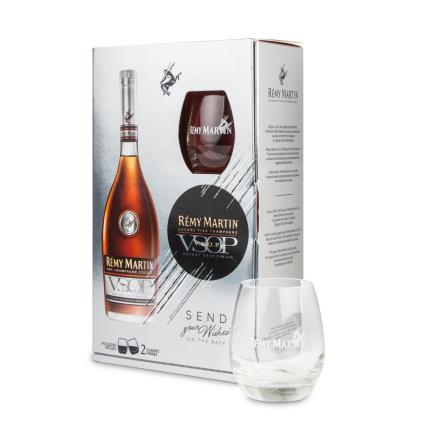 Alcohol Gifts - Remy Martin VSOP 70cl Glass Pack - Image 2