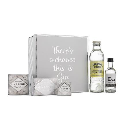 Alcohol Gifts - There's A Chance This Is Gin Gift Box - Image 1