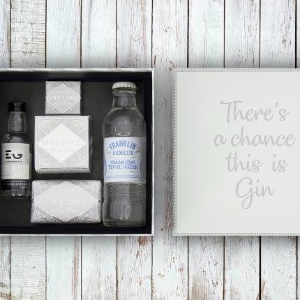 Alcohol Gifts - There's A Chance This Is Gin Gift Box - Image 2