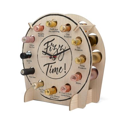 Alcohol Gifts - Tick Tock It's Fizz O'Clock Assorted Sparkling Wine Gift Set - Image 1