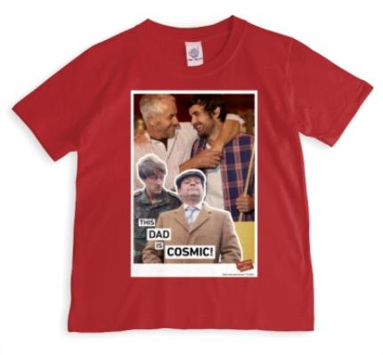 T-Shirts - Only Fools and Horses Personalised Father's Day T-Shirt - Image 1