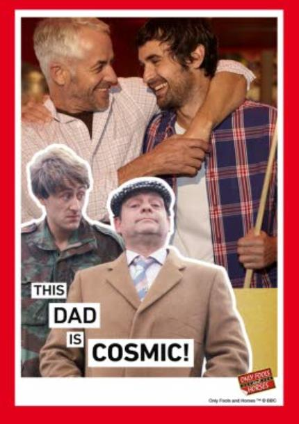 T-Shirts - Only Fools and Horses Personalised Father's Day T-Shirt - Image 4