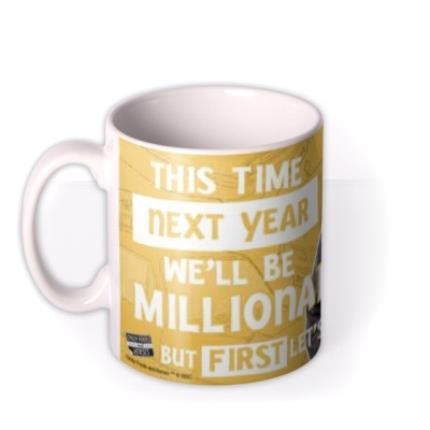Mugs - Only Fools and Horses Mug -  We'll be Millionaires! - Image 1