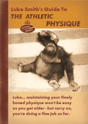 Greeting Cards - Athletic Physique' Birthday Card - Image 1