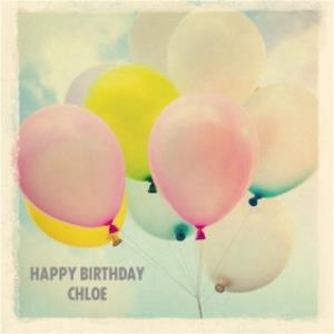 Greeting Cards - Balloons Floating Away Into The Sky Personalised Happy Birthday Card - Image 1