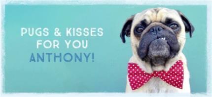 Mugs - Pugs And Kisses For You Funny Mug - Image 4