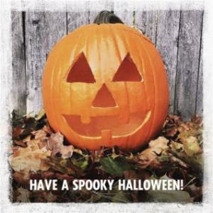 Greeting Cards - Jack-O-Lantern Halloween Card - Image 1