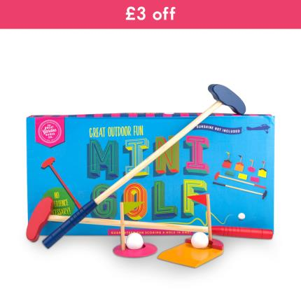 Gadgets & Novelties - Great Outdoor Game Mini Golf - WAS £25 NOW £22 - Image 1