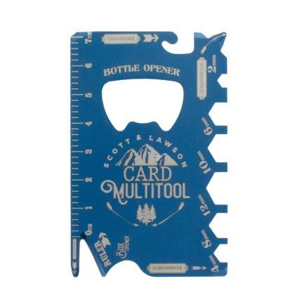 Gadgets & Novelties - Scott & Lawson Credit Card Multi Tool - Image 1