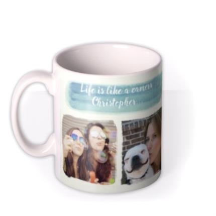 Mugs - Capture Good Times Photo Upload Mug - Image 1