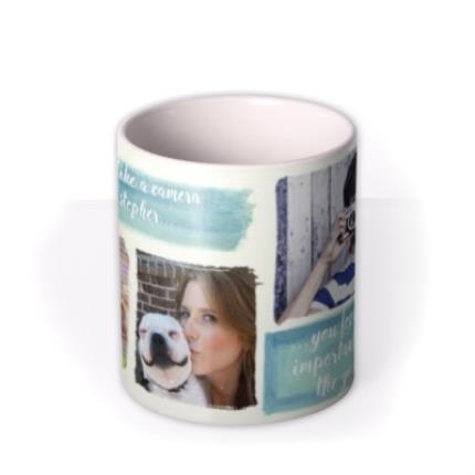 Mugs - Capture Good Times Photo Upload Mug - Image 3