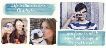 Mugs - Capture Good Times Photo Upload Mug - Image 4
