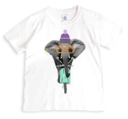 T-Shirts - Elephant-Tastic! Personalised T-shirt - Image 1