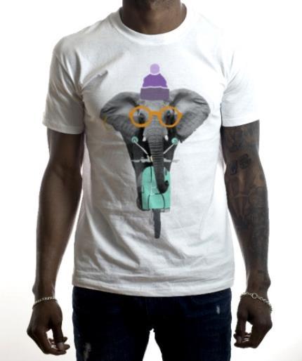 T-Shirts - Elephant-Tastic! Personalised T-shirt - Image 2