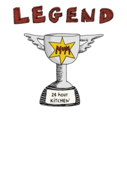 T-Shirts - Mother's Day t-shirt - trophy - legend - Image 4