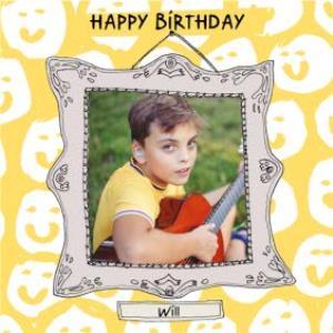 Greeting Cards - Birthday Card - Photo Upload - Photo Frame - Image 1