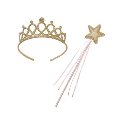 Party - Talking Tables Fairy Tiara & Wand Dress Up - Image 1