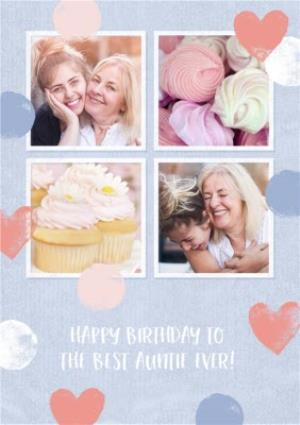 Greeting Cards - Best Auntie Ever Photo Upload Birthday Card  - Image 1