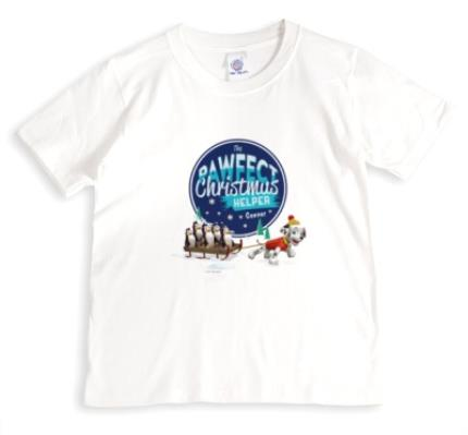 T-Shirts - Paw Patrol The Pawfect Christmas Helper T-Shirt - Image 1