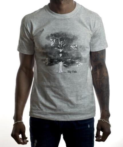 T-Shirts - Big Oak Combo Personalised T-shirt - Image 2