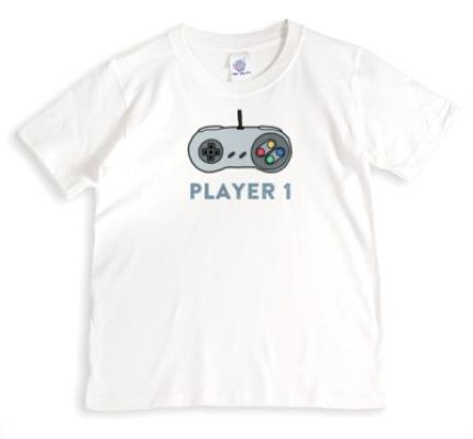 T-Shirts - Player 1 Combo Personalised T-shirt - Image 1