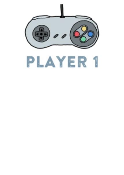 T-Shirts - Player 1 Combo Personalised T-shirt - Image 4