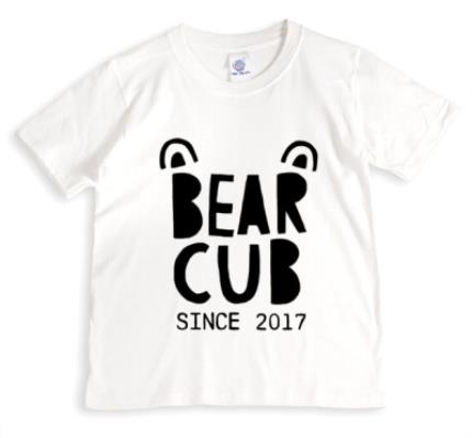 T-Shirts - Father's Day T Shirt - Bear cub - Bear - Daughter - Son - Image 1