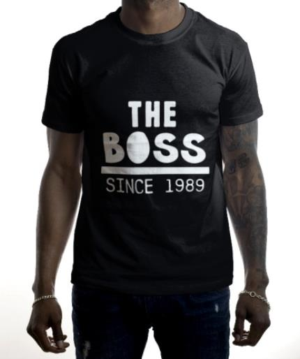T-Shirts - Father's Day T Shirt - The Boss  - Image 2