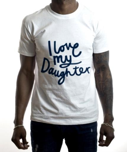 T-Shirts - Father's Day T Shirt - I Love My Daughter - Image 2