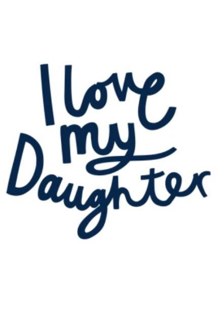 T-Shirts - Father's Day T Shirt - I Love My Daughter - Image 4