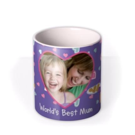 Mugs - Mother's Day Peppa Pig Best Mum Photo Upload Mug - Image 3