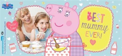 Mugs - Peppa Pig Best Mummy Ever Photo Upload Mug - Image 4