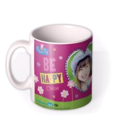 Mugs - Peppa Pig In The Garden Photo Upload Mug - Image 1
