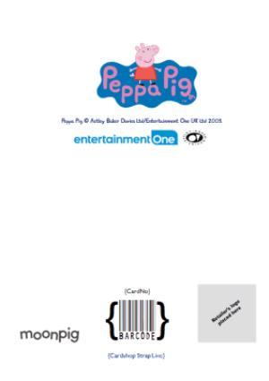 Greeting Cards - Birthday Card - Nanny - Peppa Pig - photo upload card - Image 4