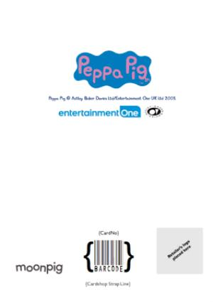 Greeting Cards - Peppa Pig Daddy You're Out Of This World Happy Father's Day Photo Card - Image 4