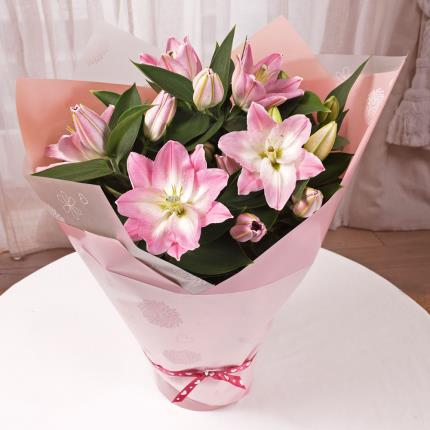 Plants - Gift Wrapped Lilies - Image 3