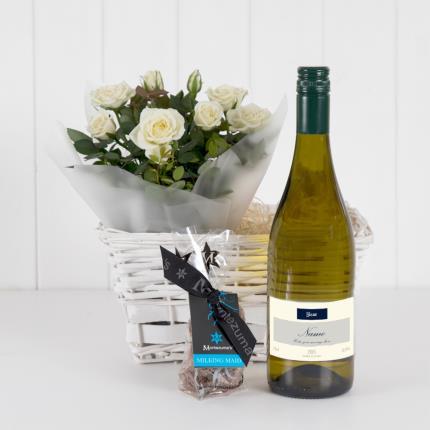Plants - Personalised White Wine Hamper - Image 2