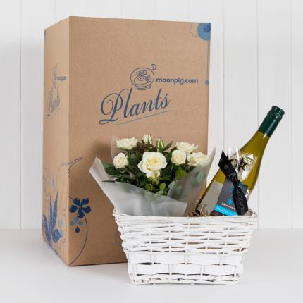 Plants - Personalised White Wine Hamper - Image 4