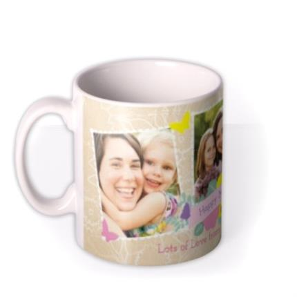 Mugs - Mother's Day Scrapbook Photo Upload Mug - Image 1