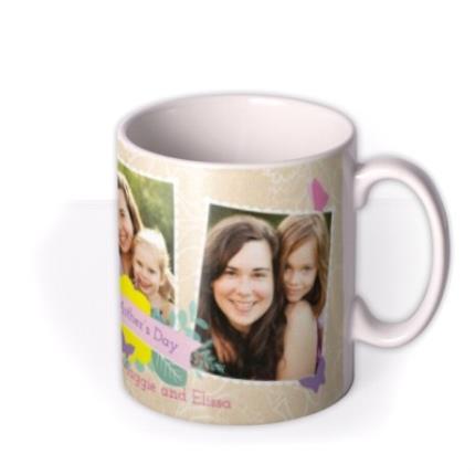 Mugs - Mother's Day Scrapbook Photo Upload Mug - Image 2