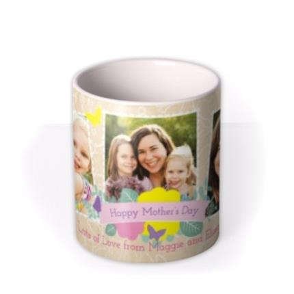 Mugs - Mother's Day Scrapbook Photo Upload Mug - Image 3
