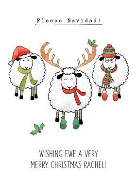 Funny Christmas Card Feliz Navidad Moonpig