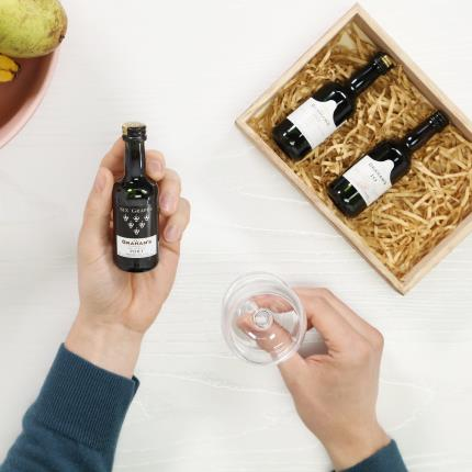 Alcohol Gifts - Graham's Miniature Port Selection - Image 1