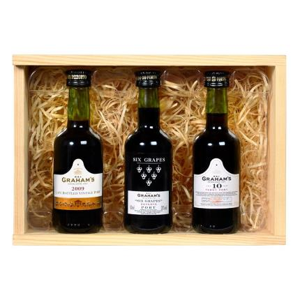Alcohol Gifts - Graham's Miniature Port Selection - Image 2