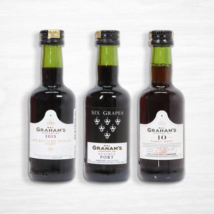 Alcohol Gifts - Graham's Miniature Port Selection - Image 3