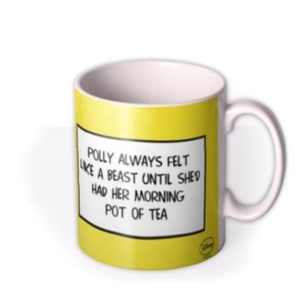 Mugs - Disney Princess Belle Beauty and the Beast Personalised Mug - Image 2