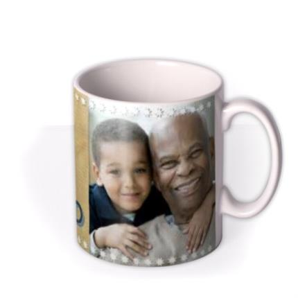 Mugs - Father's Day Grand in Grandad Photo Upload Mug - Image 2