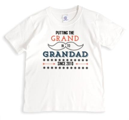 T-Shirts - Father's Day Grand In Grandad Personalised T-shirt - Image 1