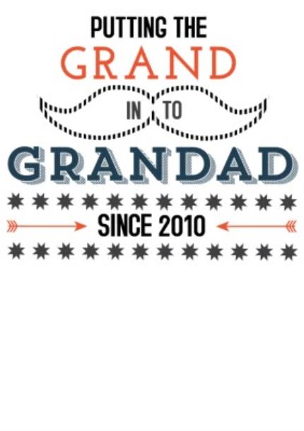 T-Shirts - Father's Day Grand In Grandad Personalised T-shirt - Image 4